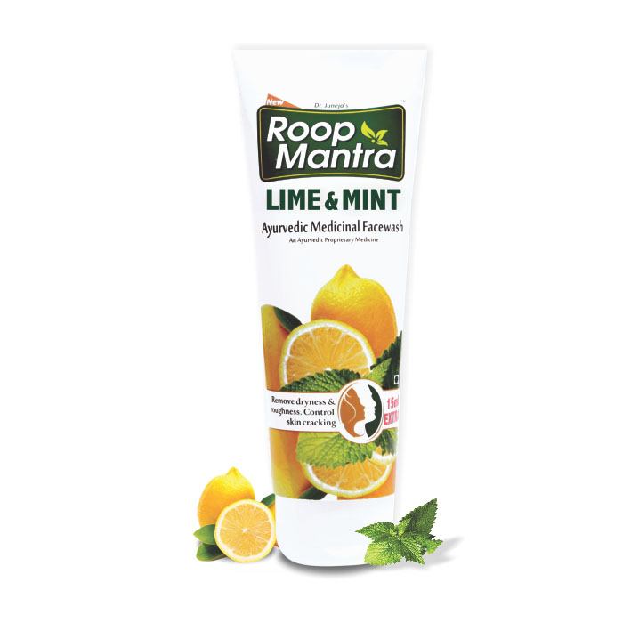 Roopmantra-ayurvedic-Lime-And-Mint-Facewash